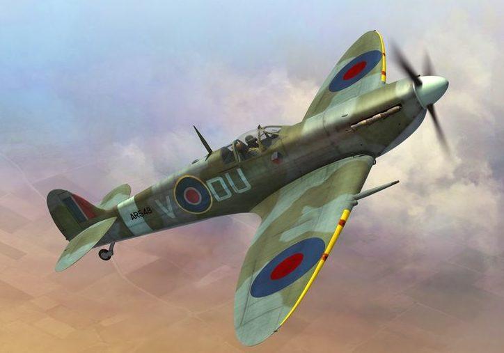 Boucher Jerry. Истребитель Spitfire Mk.Vc.