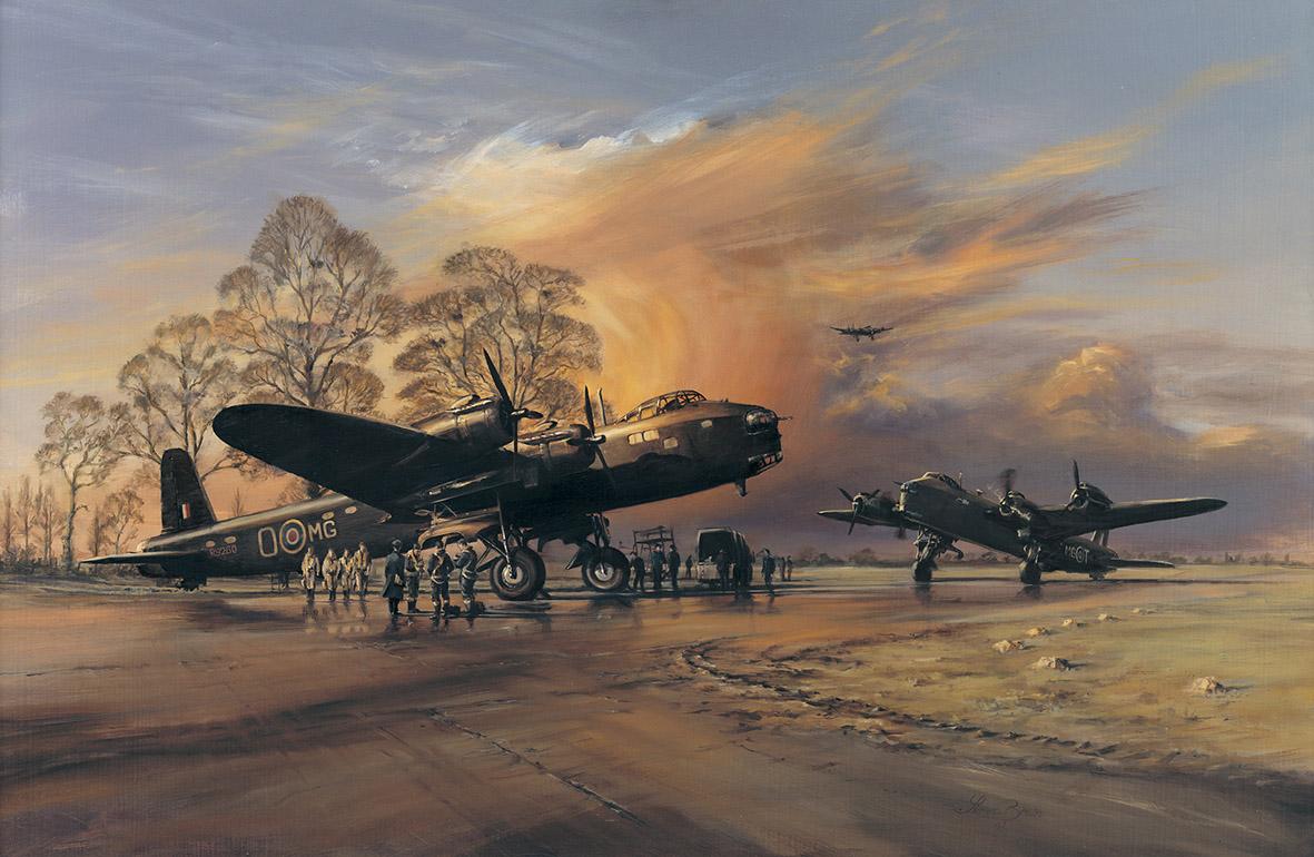Brown Stuart. Аэродром.