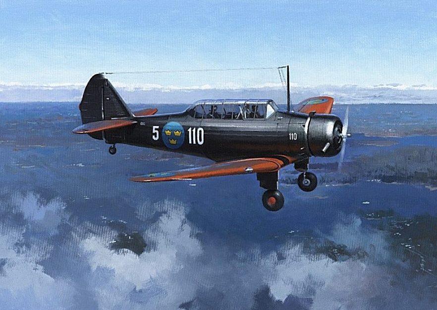 Middlebrook Roger. Учебный самолет SK-14.
