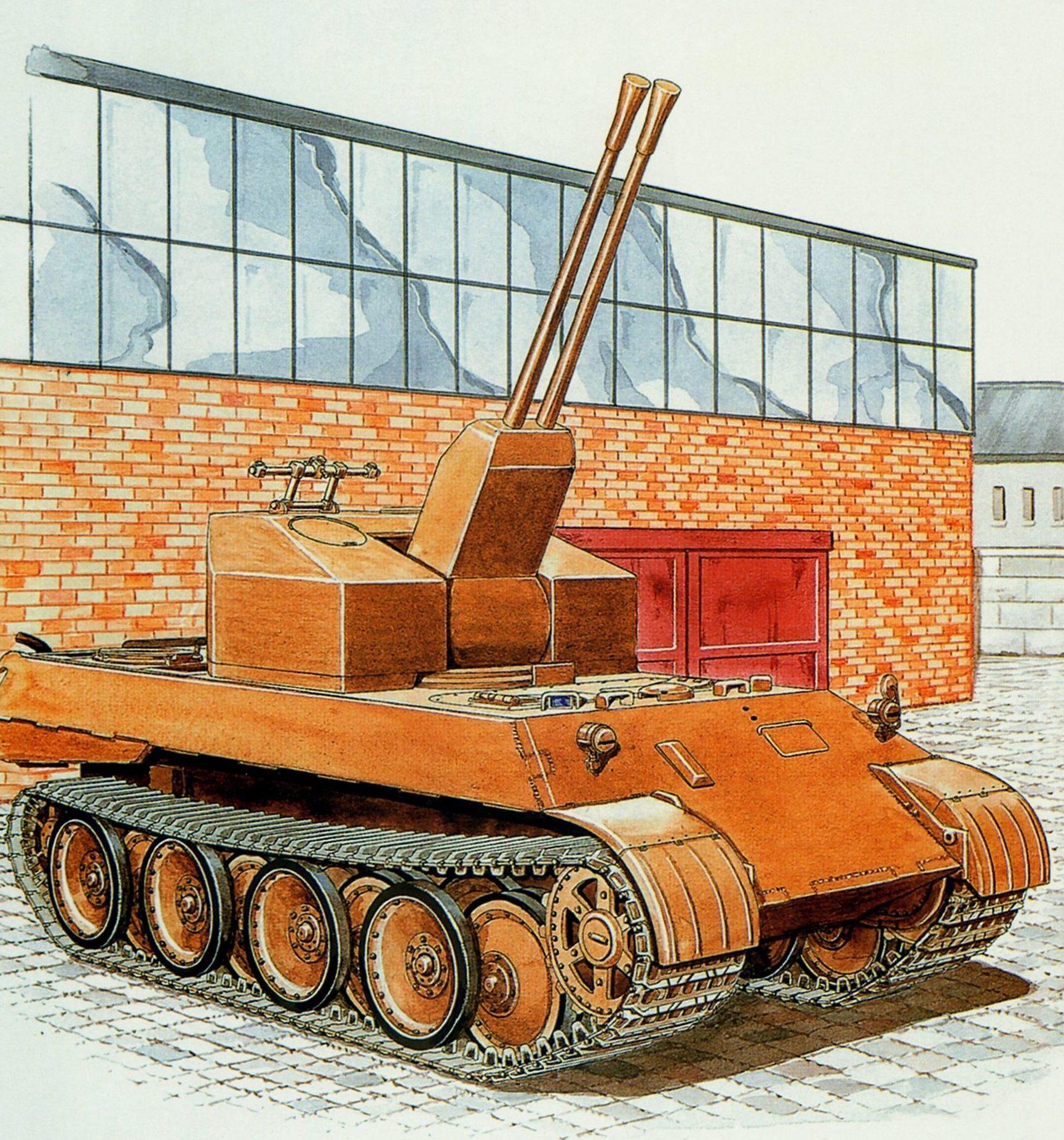 Badrocke Mike. Flakpanzer 37 mm.