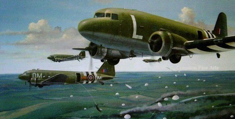 Berryman Ivan. Выброска воздушного десанта.