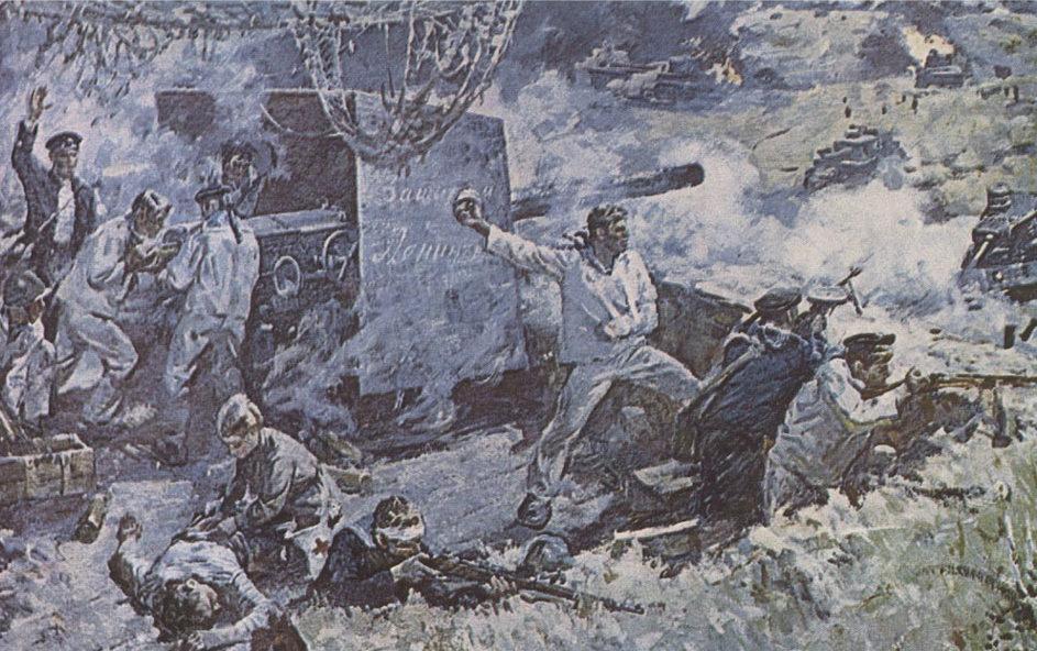 Гадалов О. Бой на Вороньей горе в 1941 году.