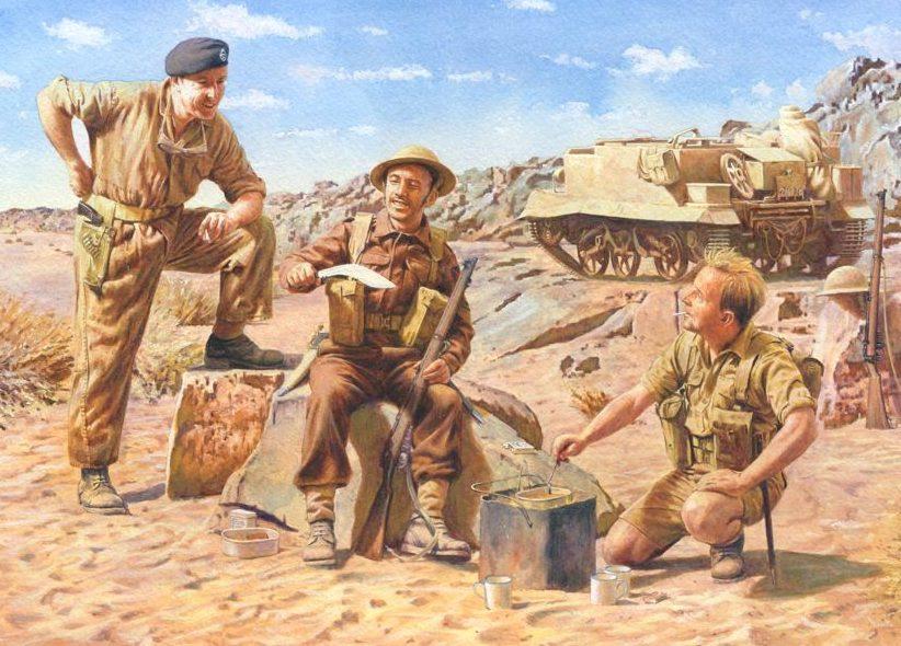 Noon Steve. Чай в пустыне.