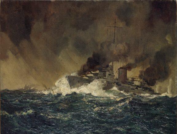 Annison Edward. Атака на линкор «Graf Spee».