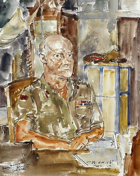 Hennell Thomas. Генерал-лейтенант Frank Messervy.