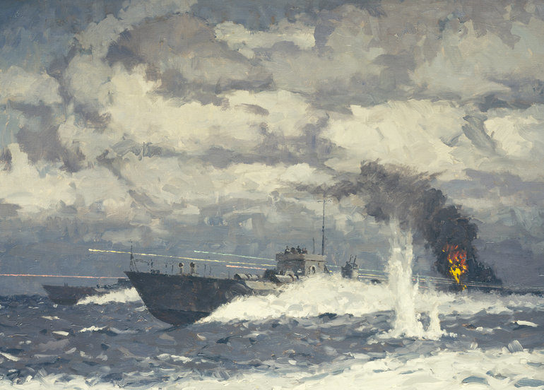 Wilkinson Norman. Торпедные катера.