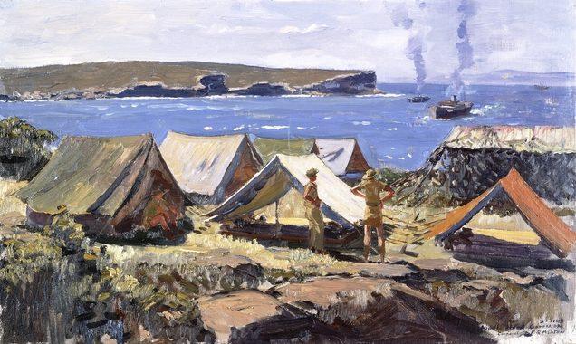 Ashton Richard. Палаточный лагерь.