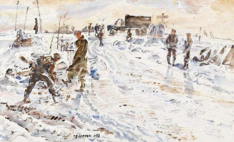 Hennell Thomas. Замерзшие на дороге.