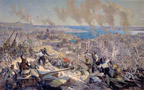 Гречишников П. Освобождение Севастополя в мае 1944 г.