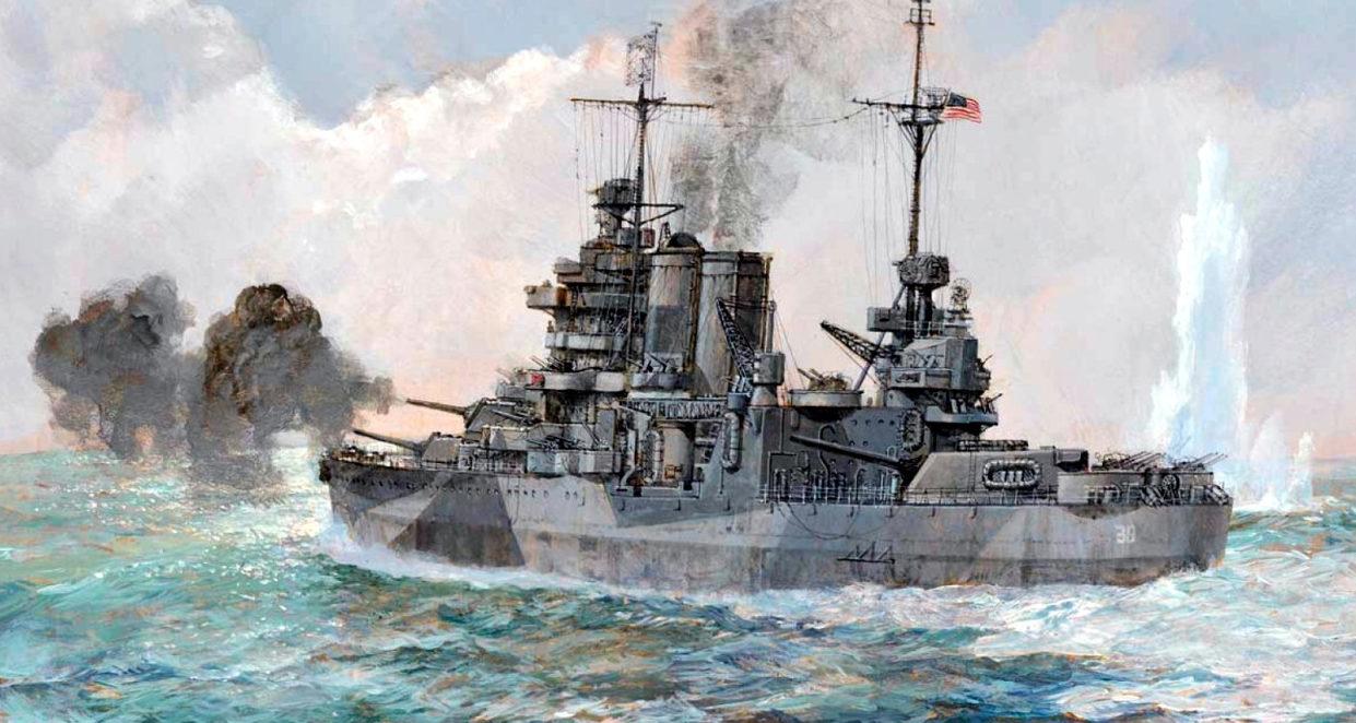 Wright Paul. Тяжелый крейсер «Tuscaloosa».