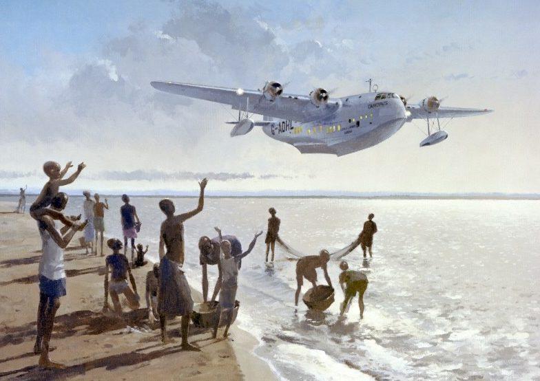 Middlebrook Roger. Летающая лодка Short Sunderland.
