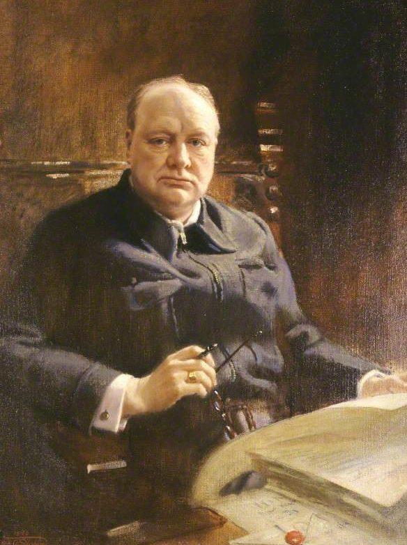 Salisbury Frank. Черчилль.