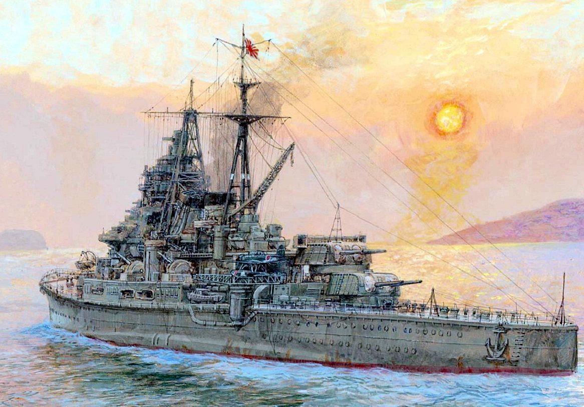 Wright Paul. Тяжелый крейсер «Chokai».