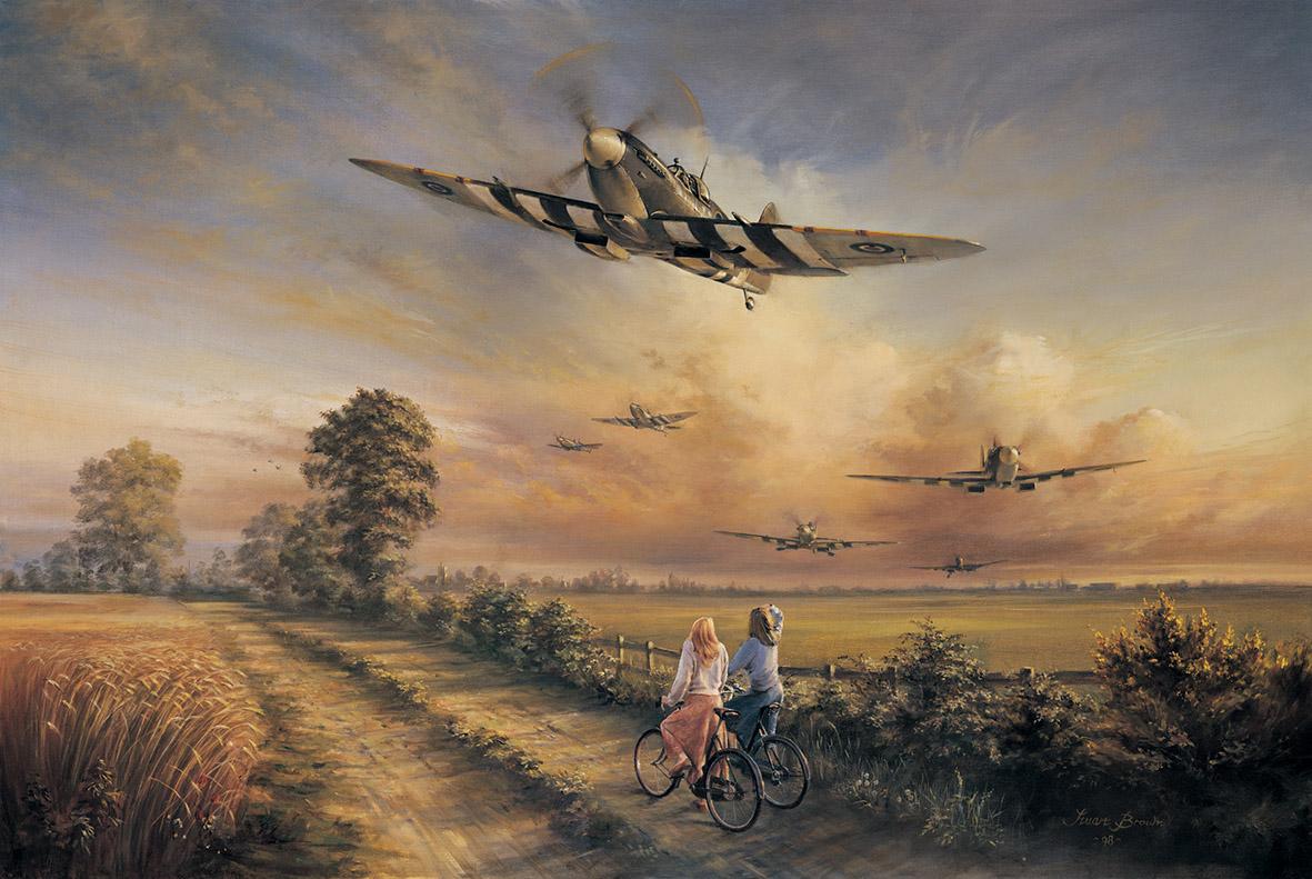 Brown Stuart. Лето 1944 года.