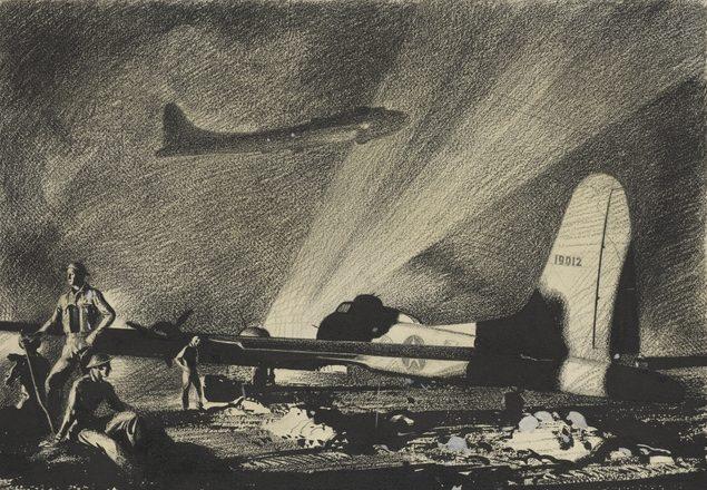 Dargie William. Летающая крепость В-17.