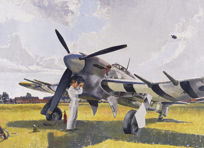 Hewland Elsie Dalton. Обслуживание самолета Typhoon.