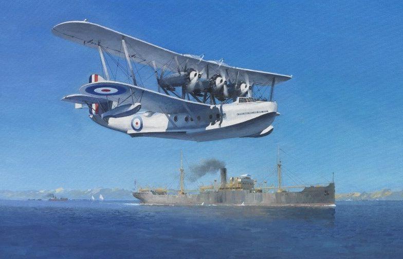 Middlebrook Roger. Летающая лодка Short Rangoon.
