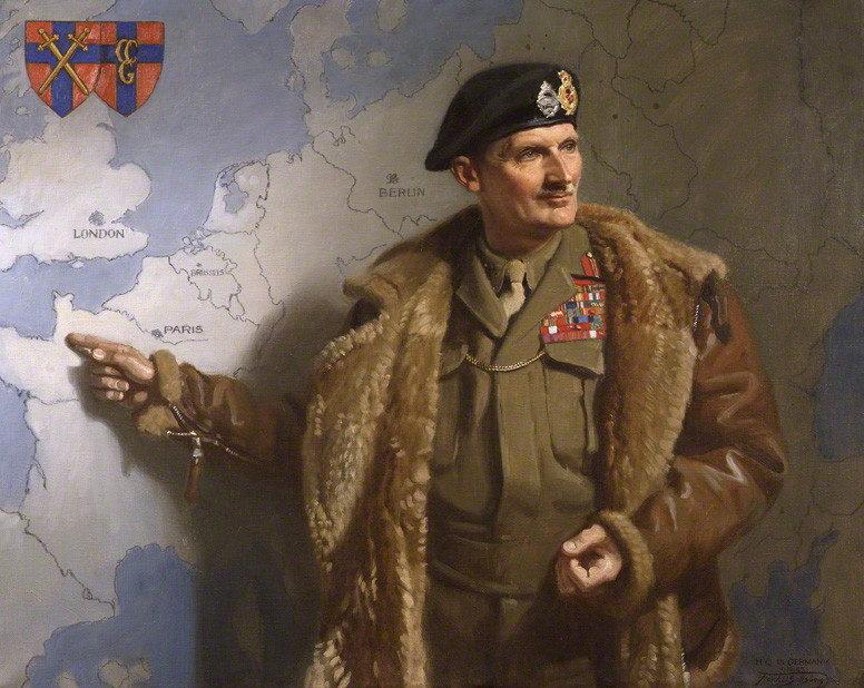 Salisbury Frank. Генерал Bernard Montgomery.