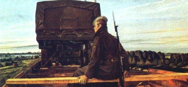 Полозов А. Песнь вагонных колес.