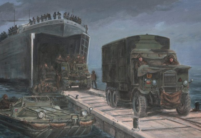 Pentland David. Морской десант.