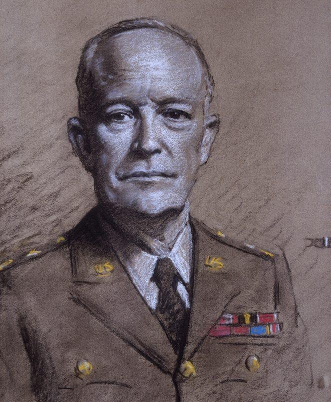 Salisbury Frank. Генерал Eisenhower.