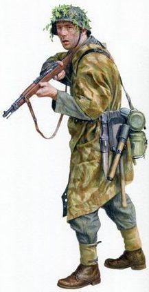 Noon Steve. Солдат Вермахта.