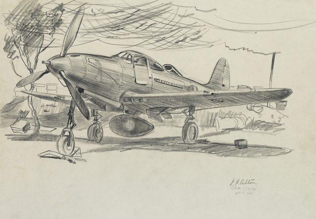 Ashton Richard. Истребитель P39 Airacobra.