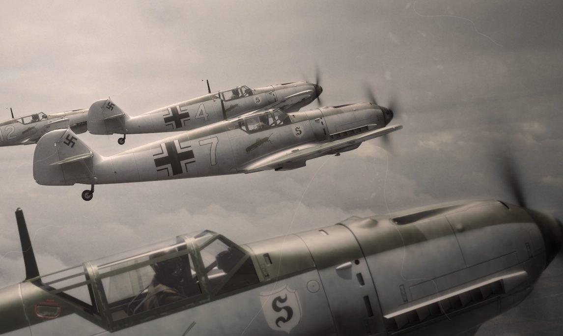 Luijken Wiek. 109 эскадрилья.