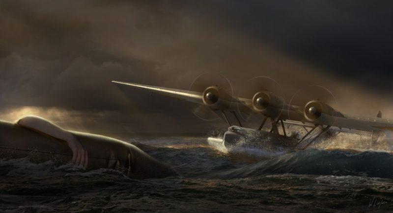 Luijken Wiek. Спасение на море.