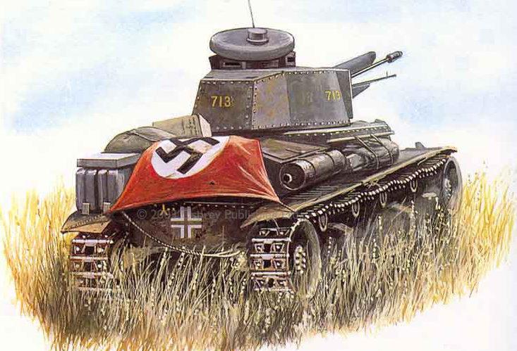 Sarson Peter. Танк PzKpfw 35(t).