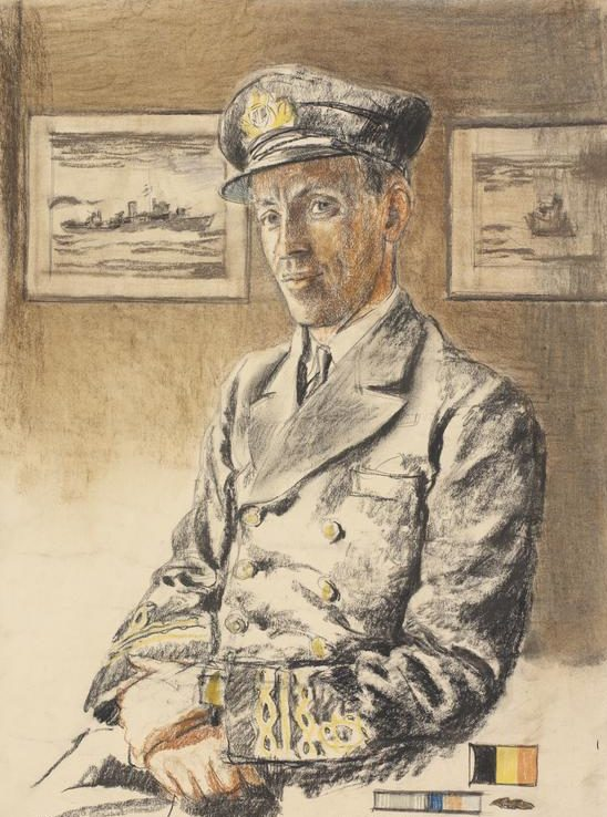 Bone Stephen. Капитан-лейтенант Larose.