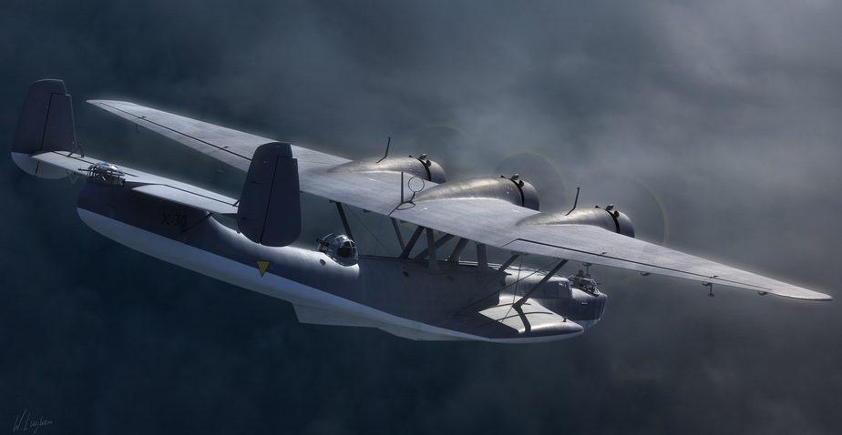 Luijken Wiek. Летающая лодка Do-24.