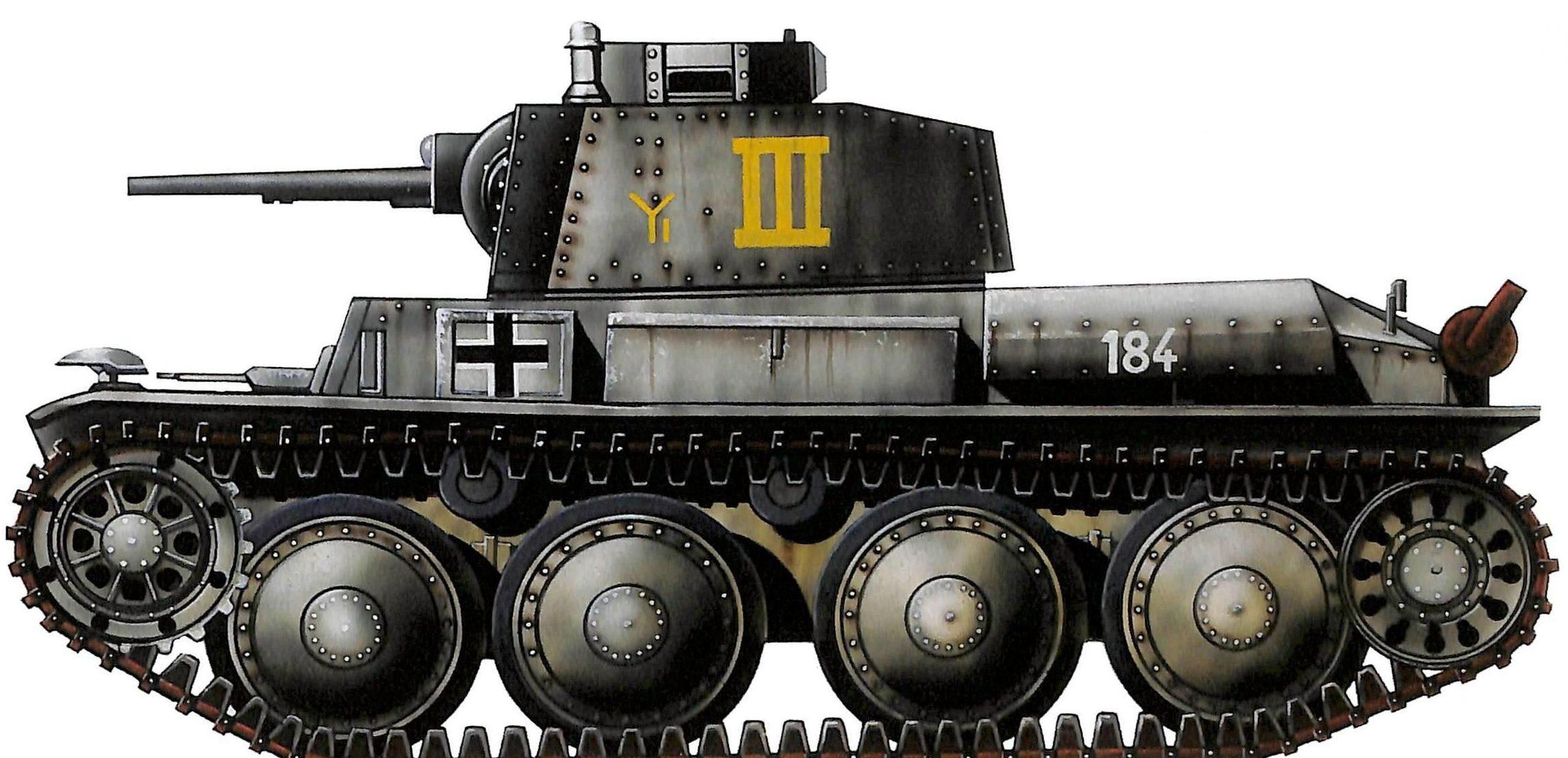 Sarson Peter. Танк PzBefw 38(t) Ausf. B.