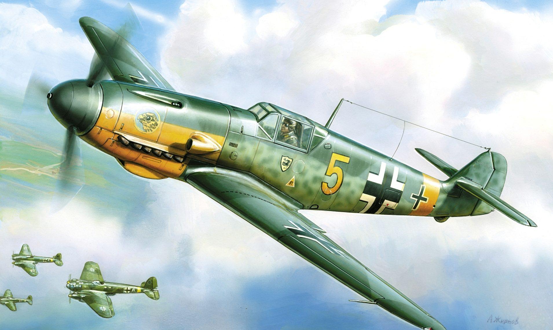 Жирнов Андрей. Истребитель Messerschmitt Bf-109.