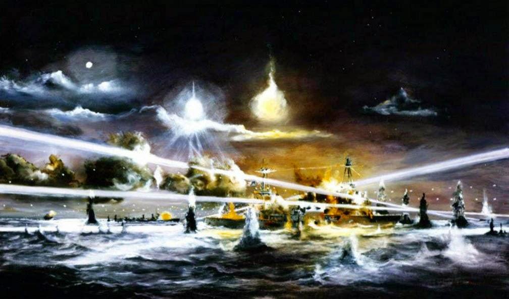 Hamilton John. Последний бой крейсера «Houston».