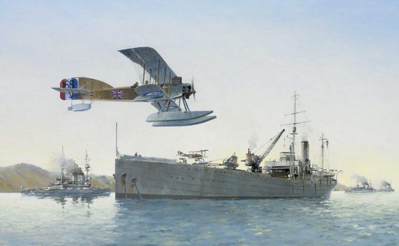 Middlebrook Roger. Гидроавиатранспорт Ark Royal.