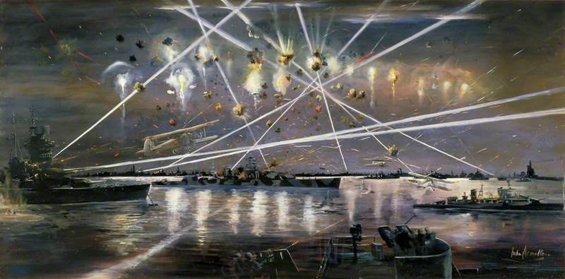 Hamilton John. Атака на Taranto.