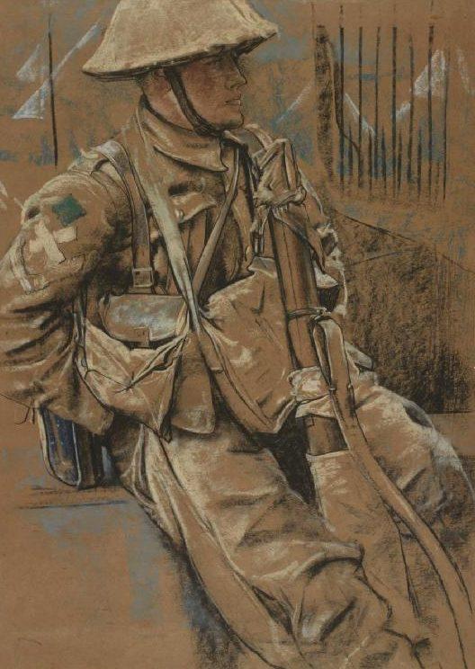 Kennington Eric. Британский пехотинец.