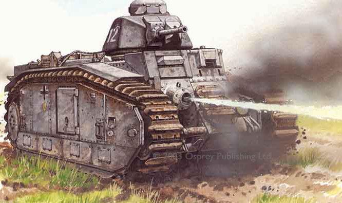 Sarson Peter. Огнеметный танк Panzerkampfwagen B2 (F).