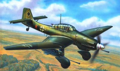 Жирнов Андрей. Бомбардировщик Ju-87.