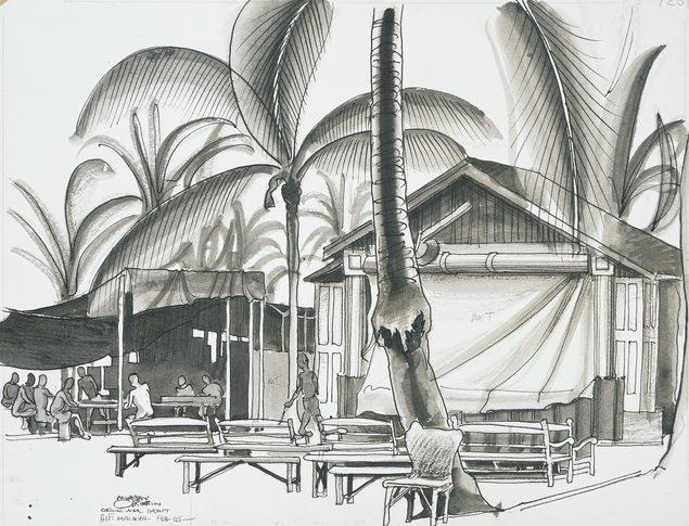 Griffin Murray. «Театр» в лагере.