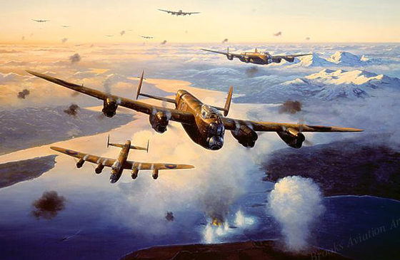 Postlethwaite Mark. Бомбардировщики Avro Lancaster.