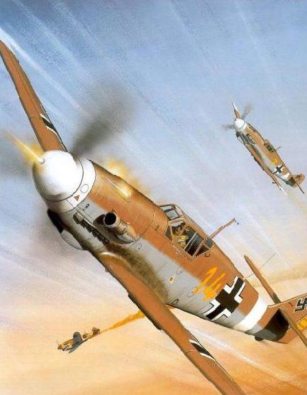 Wyllie Iain. Истребитель Bf-109 F-4/Z Trop.