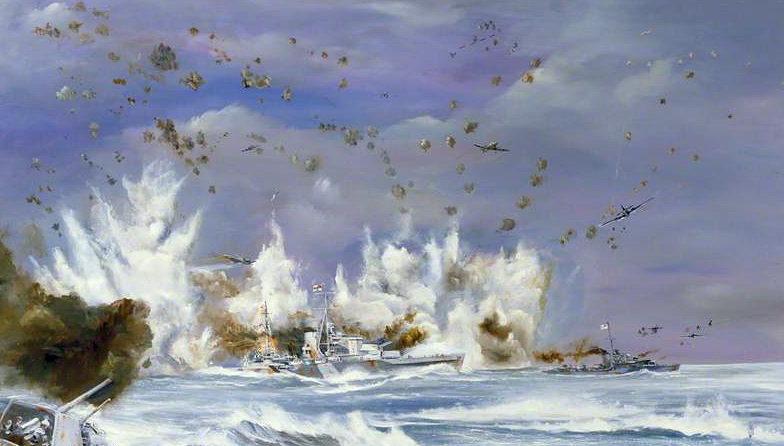 Hamilton John. Эвакуация с о. Крит крейсеров «Orion» и «Kimberley».
