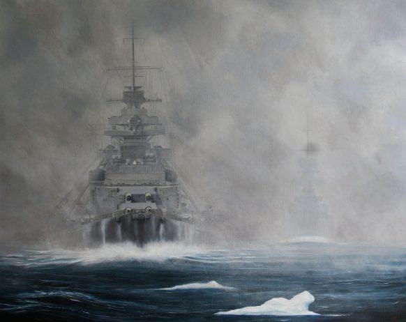 Kindred Jon. Линкор «Bismarck».