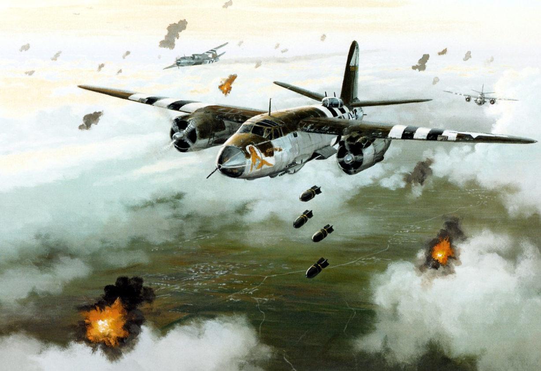 Postlethwaite Mark. Бомбардировщик В-26 «Marauder».