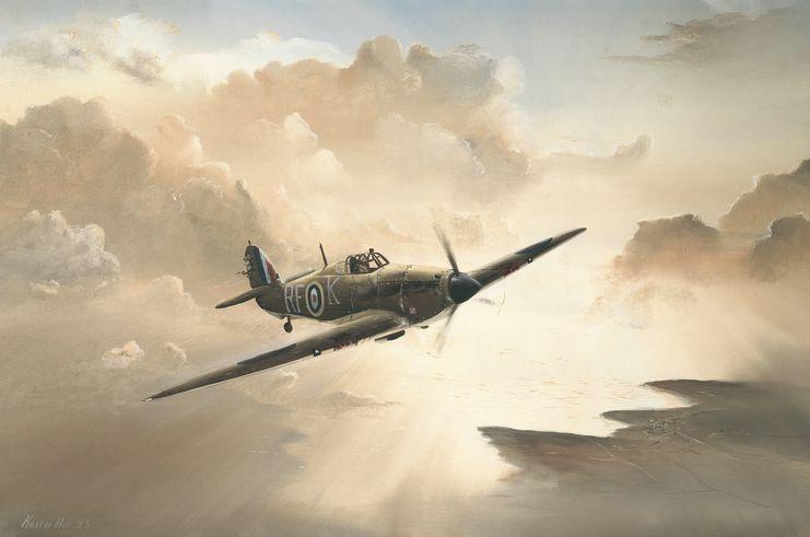Hill Keith. Истребитель P-51 Mustang.