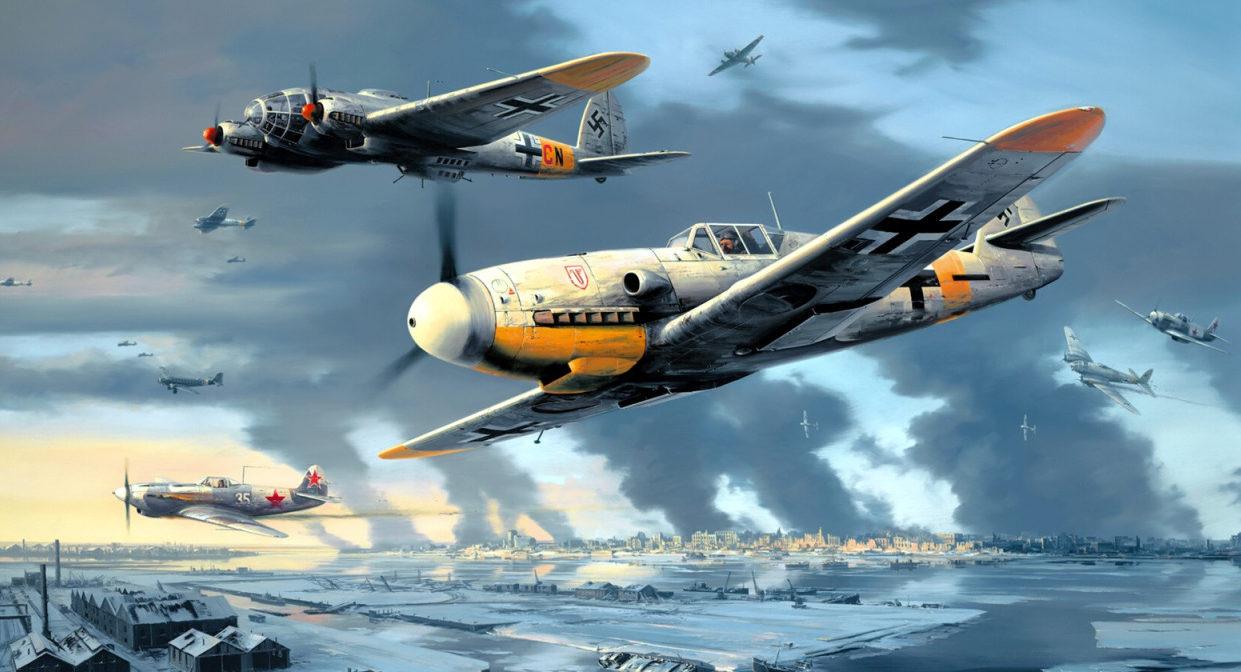 Trudgian Nicolas. Истребитель Bf-109 у Сталинграда.