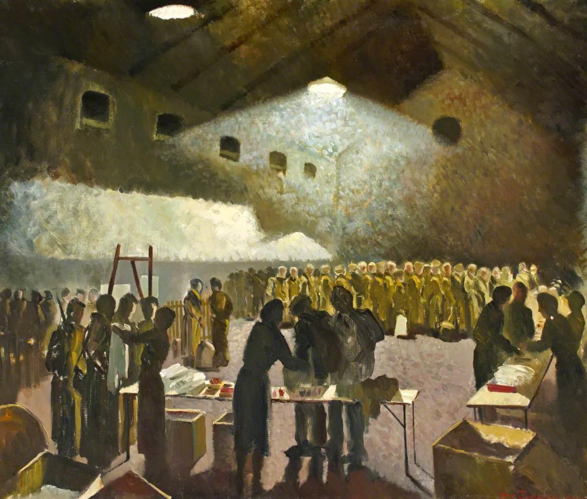 Scott Septimus Edwin. Красный крест с военнопленными.