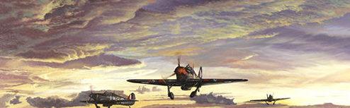 Thurston Paul. Истребители Hawker Hurricane Mk.IIB.